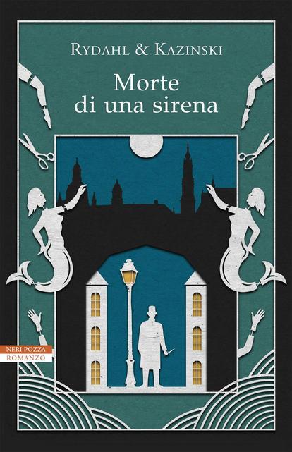 Copertina del libro-Morte di una sirena-Rydahl e Kazinski